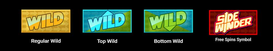symboler slotmaskin sidewinder