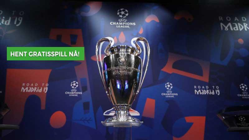 Gratis odds spill på Champions league finale