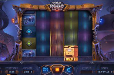 Wild robo factory spilleautomat